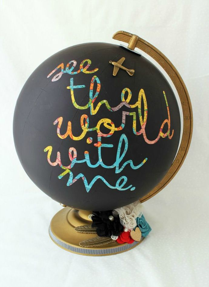 124 best think globally images on pinterest maps globe art and globes gift guide for globetrotters gumiabroncs Images
