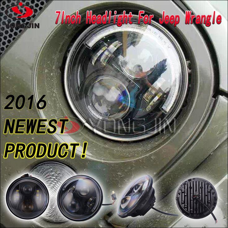 for wrangler led auto 4x4 led driving light high low truck led headlight