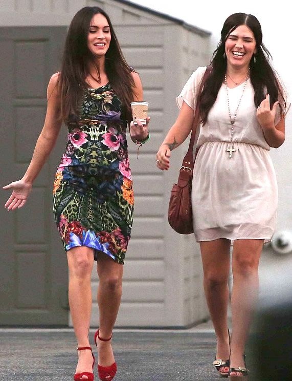 Megan Fox Sister | Megan Fox Marylin Tattoo and Sister