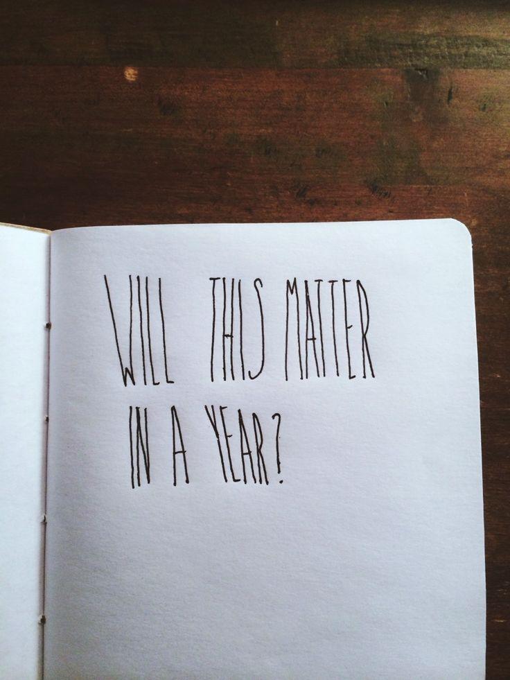will it matter