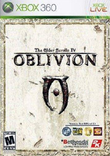 OBLIVION  The Elder Scroll IV  XBOX 360 2CD!!!