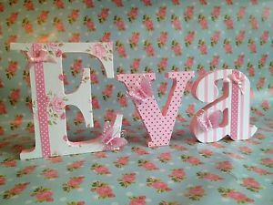 decorated floral letters