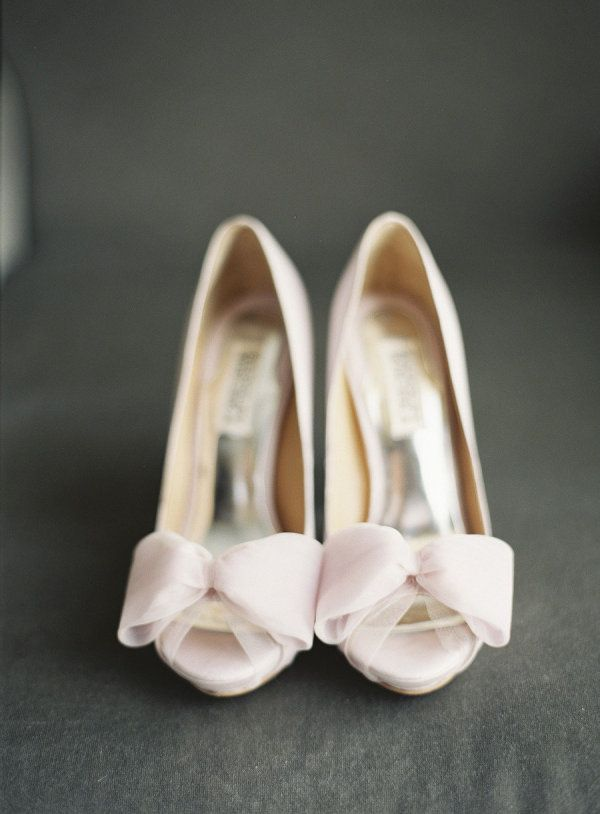 Oh, pink peep toes. We love you. Photography by carolinetran.net, Shoes by badgleymischka.com