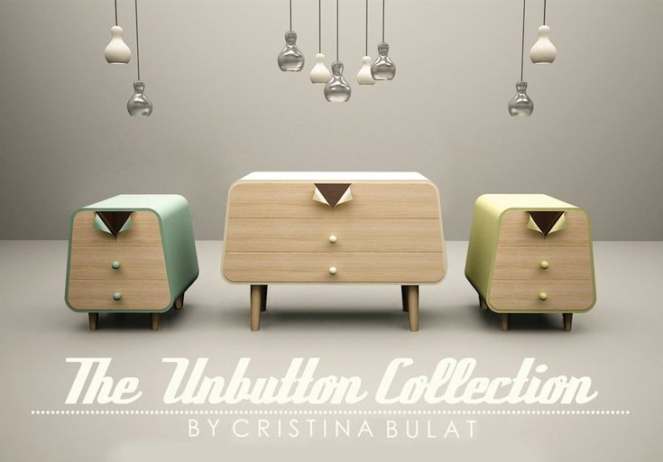 Unbutton Collection by Cristina Bulat