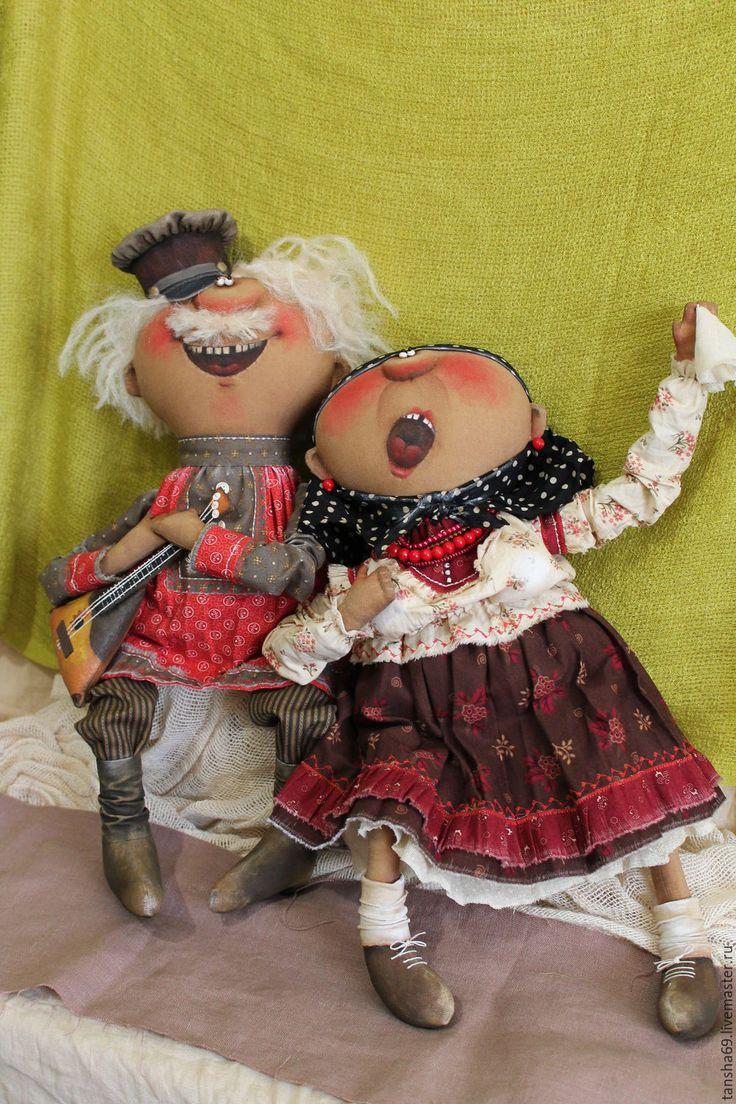 Купить А теперь песня!!!... - комбинированный, текстильная кукла, ароматизированная кукла, интерьерная кукла
