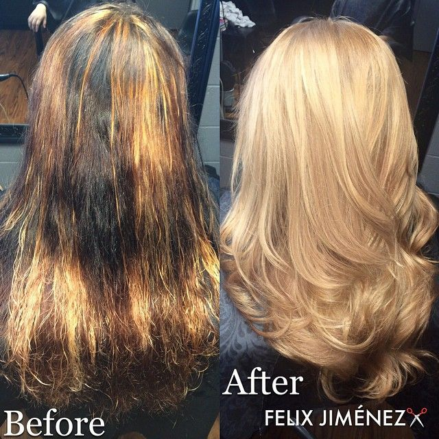 before and after olaplex - Google Search