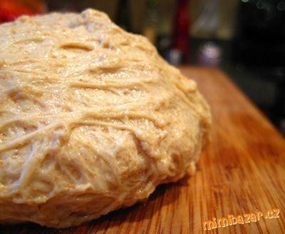 Seitan vege maso základní recept zeleninový vývar