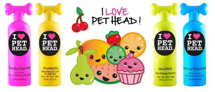 Les shampoings pour chiens, Pet Head sont arrivés !!! http://www.sweetiedog.com/boutique/10-hygiene-chien