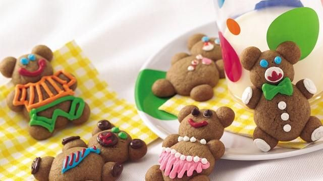 Gingerbread Teddies: Gingerbread Teddies, Teddies Decorated, Beautiful Teddies, Abs, Teddies Recipe, Gingerbread Cookies, Treat