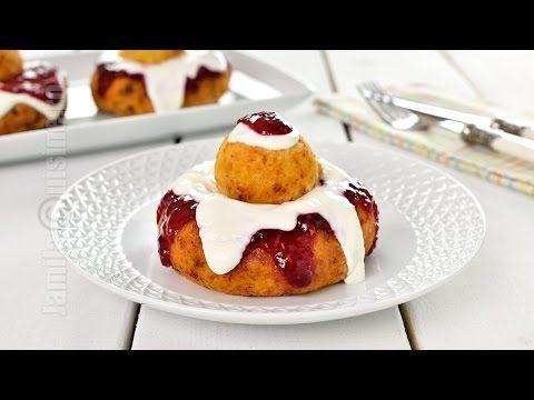 Papanasi prajiti | Cheese Doughnuts (CC Eng Sub) | JamilaCuisine - YouTube