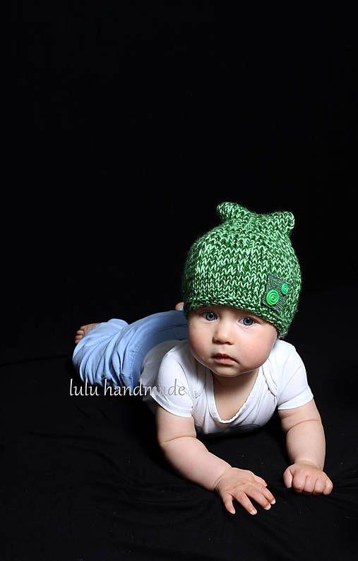 zelená čiapočka