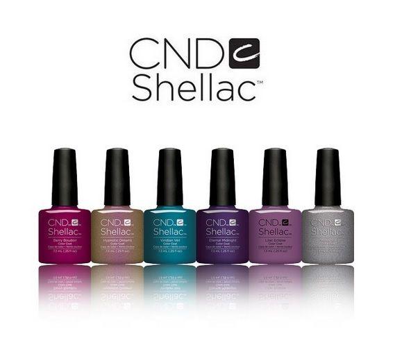 Ya tenemos la nueva colección Night Spell de Shellac de CND de Otoño 2017!!! Esmaltes permanentes para lucir la moda de esta temporada!!