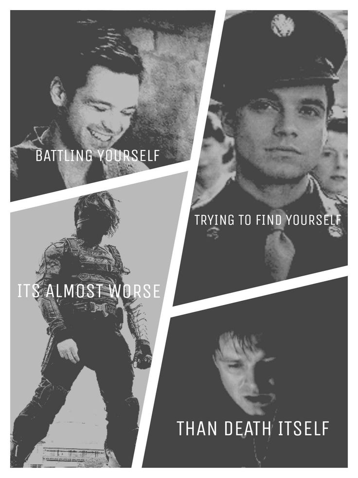 Winter Soldier/Bucky Barnes/Sebastian Stan Imagines:Bucky- Emotions - □■ Imagines about the perfection that is Sebastia...