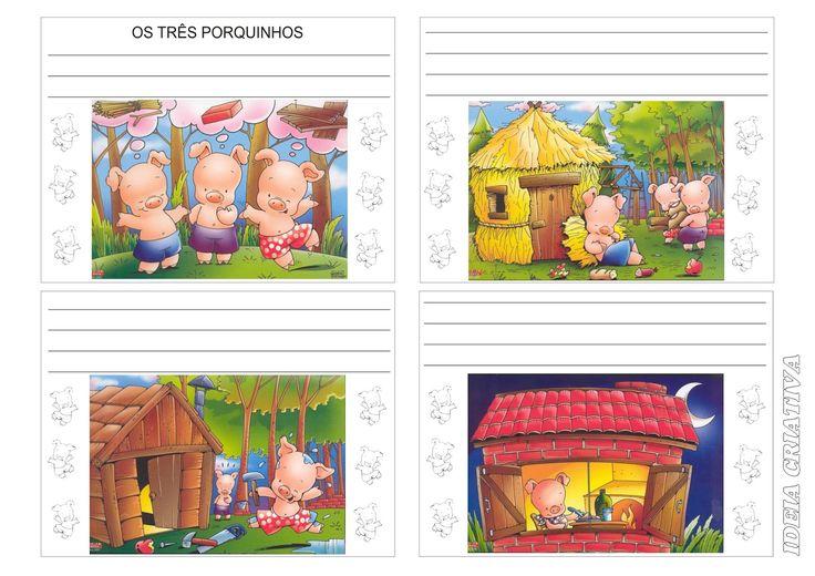 Lipitipi- Atividades e Projetos Fundamental I: Produção Textual - Os Três Porquinhos