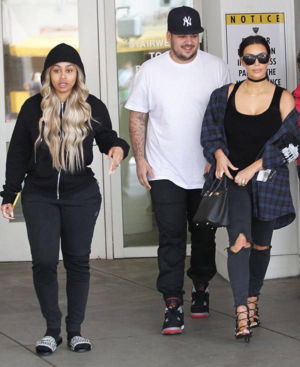 See photos of Blac Chyna's maternity style.