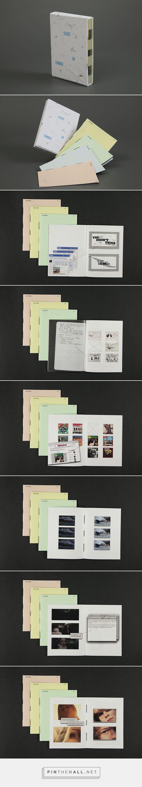 State of things - recueil de recherches d'un semestre - Elodie Loan (France)