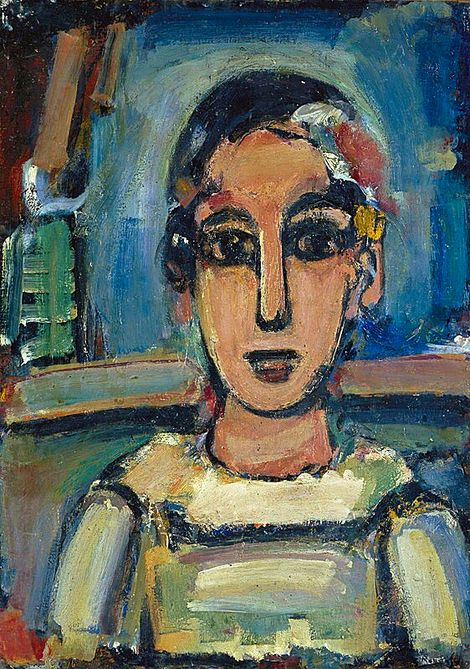 Georges Rouault, Pierrot 1938-39 on ArtStack #georges-rouault #art