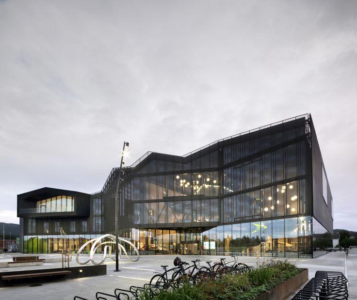 Cultural Center Stjørdal / Reiulf Ramstad Arkitekter + Lusparken Arkitekter…