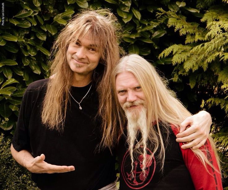 Arjen Lucassen (Ayreon) and Marco Hietala (Nightwish)!!!