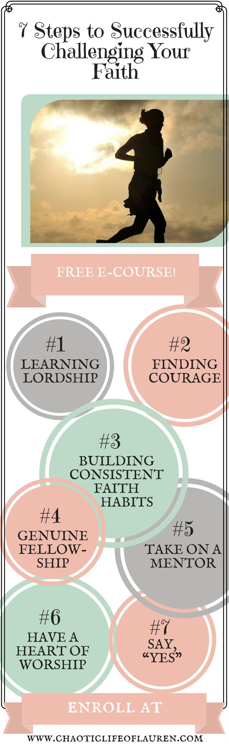 How can you successfully challenge your faith? Take this free course to find out! | Spiritual Growth | Christian Motherhood | Faith | Christian Lifestyle | Free Christian E-Course