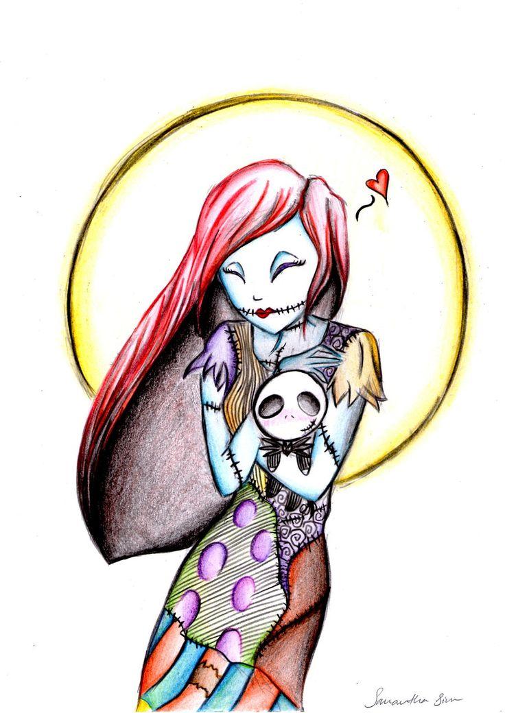 Sally's Jack Doll by ~Violet1202 on deviantART