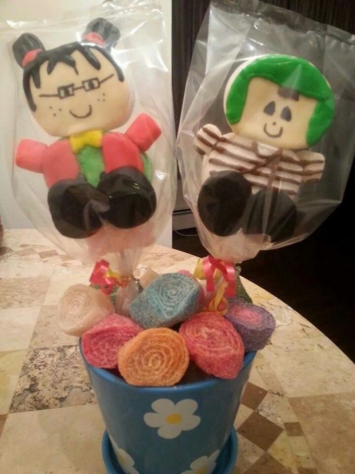 Chavo Del Ocho Marshmallow Pops Awesome For Birthday