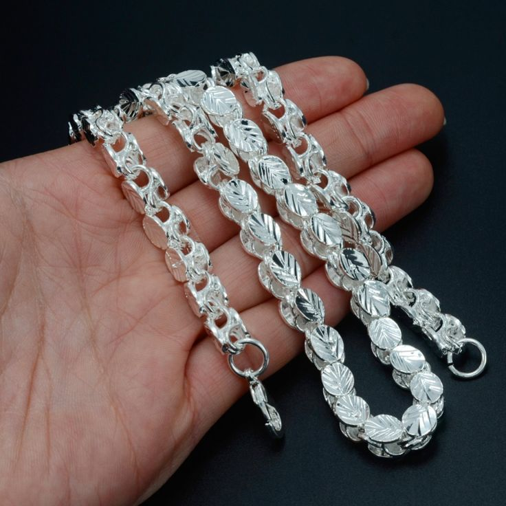 53CM/83CM Width 9MM/6MM,Ethiopian Thick Necklaces Silver Plated Africa Eritrea Chunky Chain Necklace/Dubai/Arab #049806