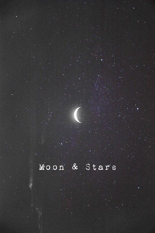 iPhone wallpaper | lockscreen | papel de parede | plano de fundo | background | moon | stars | lua