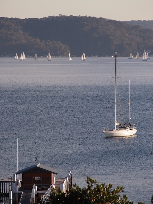Palm Beach - View over Pittwater