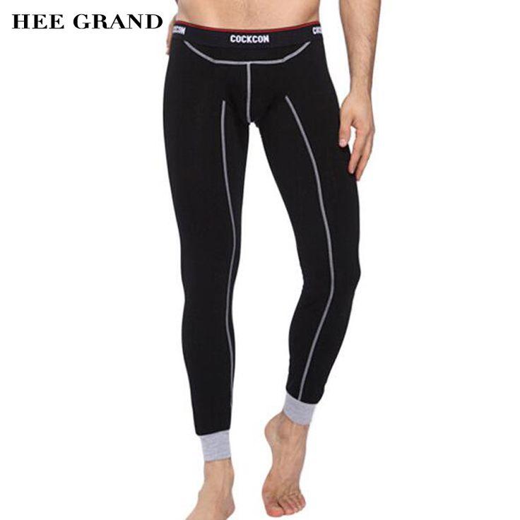 HEE GRAND Men Sexy Long Underwear 2017 New Arrival Autumn Winter Casual Cotton Thin Slim Calzoncillos Largos Hombre NBK005