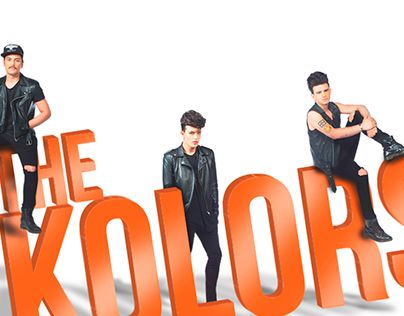 """Check out new work on my @Behance portfolio: """"A tribute to """"The Kolors"""""""" http://on.be.net/1Mi82uq"""