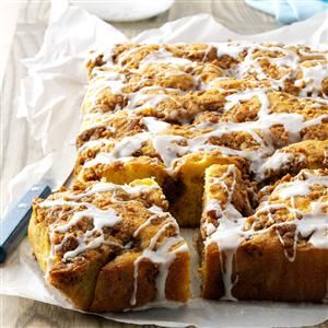 Graham Streusel Coffee Cake Recipe from Taste of Home -- shared by Blanche Whytsell of Arnoldsburg, West Virginia