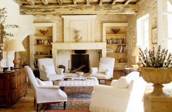 226 best images about french country decor on pinterest for Elegant farmhouse living room