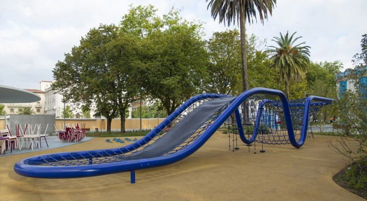 Parque infantil Jardines de Pereda en Santander                              …