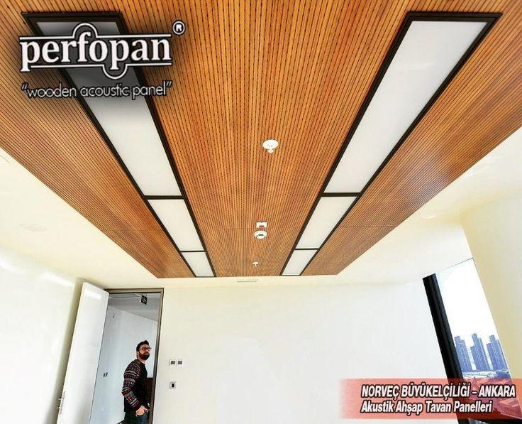 LinkedIn NORWAY EMBASSY, ANKARA Acoustic Ceiling Panels by Perfopan  info@perfopan.com    www.perfopan.com