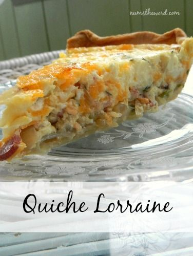 If you love Quiche, then you'll love this!  This Quiche Lorraine is hands down the best quiche I have ever had. Perfect for breakfast or brunch, everyone will love it!