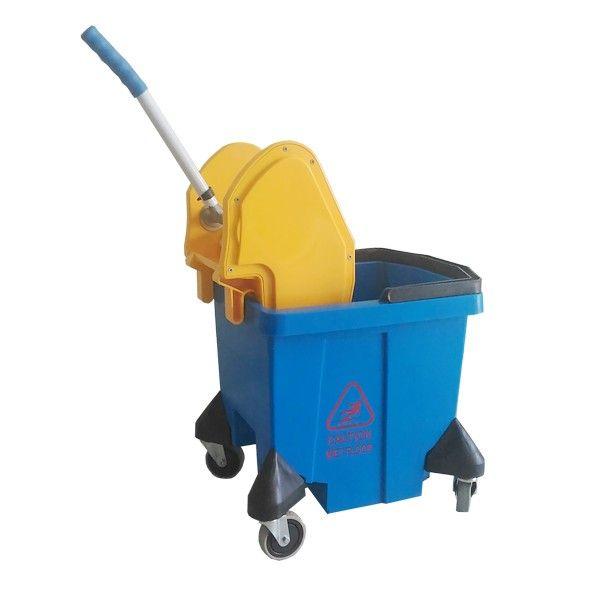 Single Bucket 28 L Deluxe Blue.  - Type:302KL-25DXBR/KN - Capasitas :28L - Wringer:Down Press - Color:Yellow, Blue - product size :42.5x34.5x66cm - Harga per Unit.  http://alatcleaning123.com/ember/1681-single-bucket-28-l-deluxe-blue.html  #ember #bucket #alatcleaning