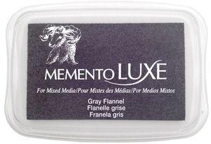 Memento Luxe GRAY FLANNEL Ink Pad Tsukineko ML-902