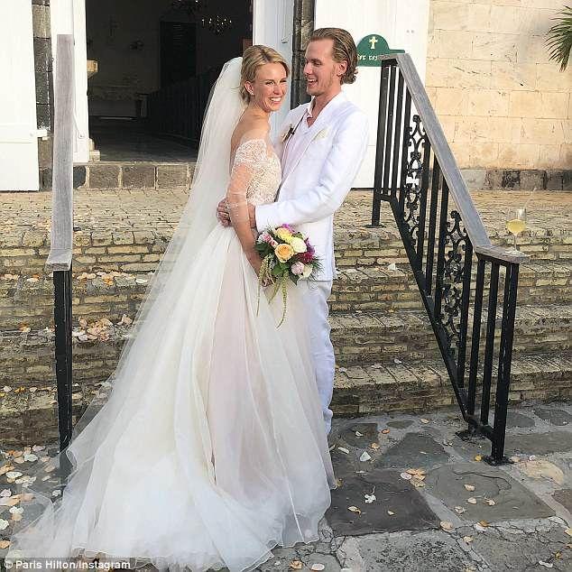 Paris Hilton S Brother Barron Marries Socialite Tessa Hilton Wedding Wedding Dresses Nicky Hilton Wedding