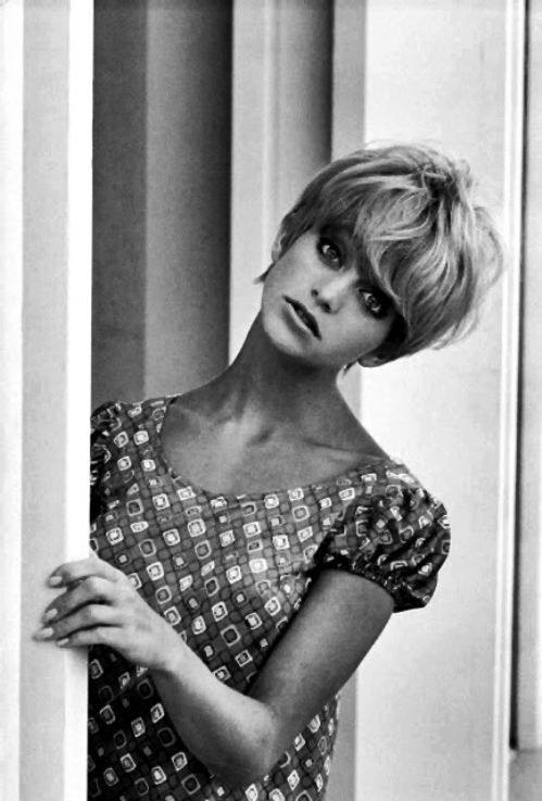 goldie hawn. I've always loved her! Me too!  I loved Laugh In and all of her movies.  She is so pretty and adorable.