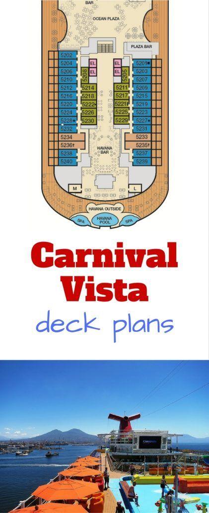 carnival cruise line #carnival #vista vista deck plan deck plans #cruise #ship cruising