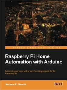 Raspberry Pi Home Automation with Arduino Pdf Download