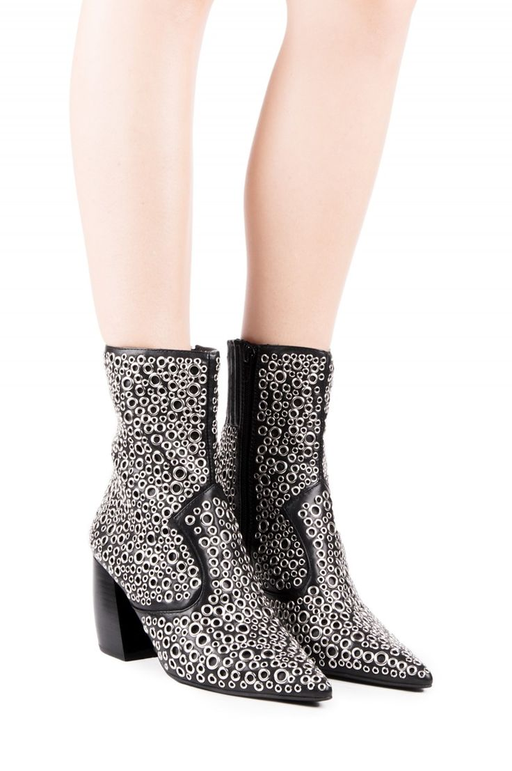 Jeffrey Campbell Shoes TUNNEY Shop All in Black Silver