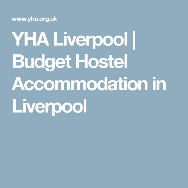 YHA Liverpool | Budget Hostel Accommodation in Liverpool