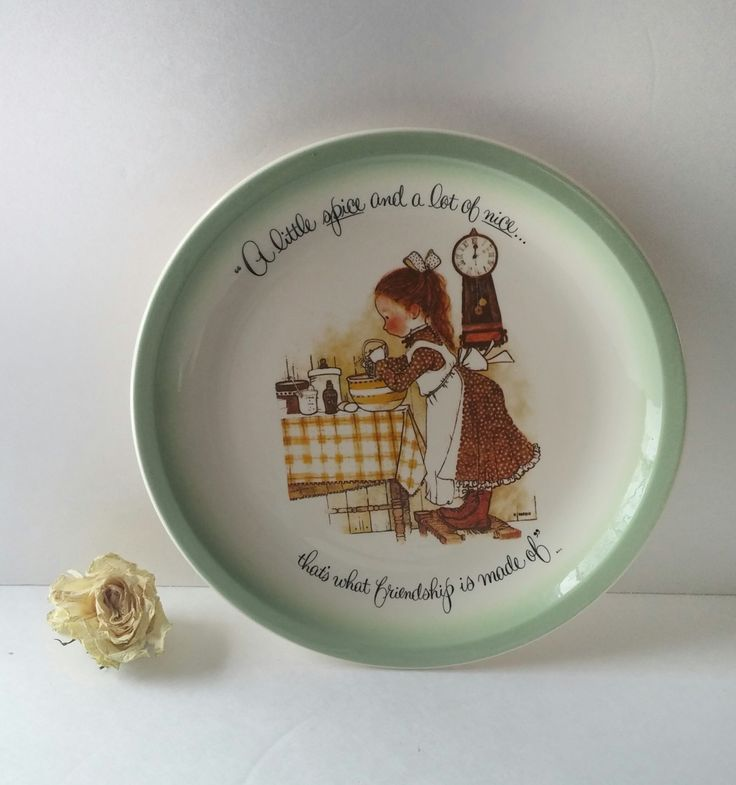 Vintage Decorative Wall Hanging Plate Gift Idea For Friend American Greetings Friendship Quote