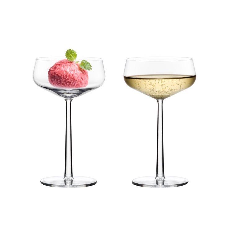 Essence Dessert/Champagne/Cocktailglas 31 cl 2-pack