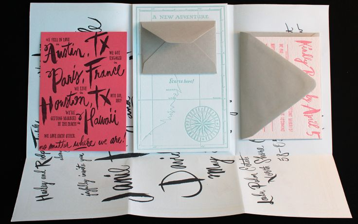 Travel-Inspired Destination Wedding Invitation Ideas   Oh So Beautiful Paper