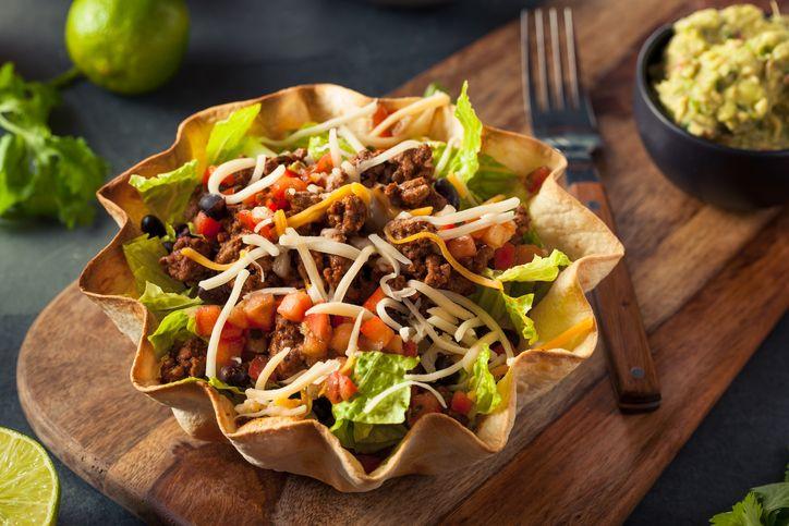 My Go-To Turkey Taco Salad Recipe