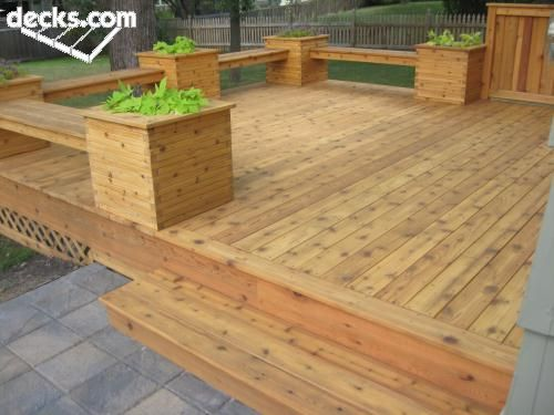 Elevated Cedar Planter Box Plans Woodworking Projects