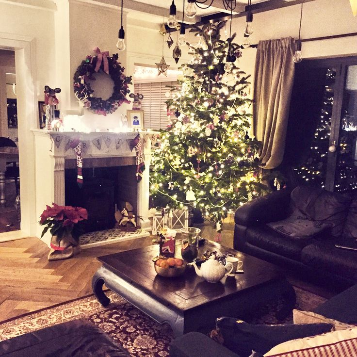 Christmas decoration.Living design